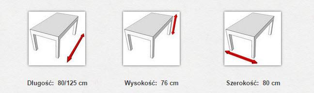 габаритные размеры стола  MAX VII