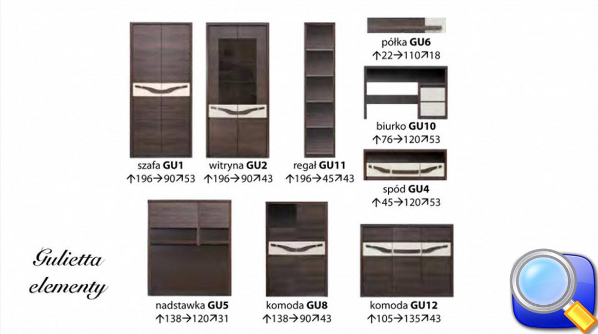 мебель для салона GULIETTA