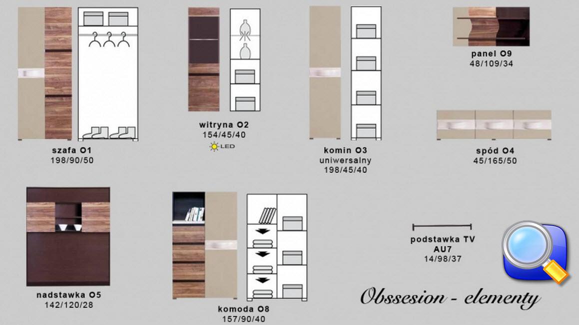 Система мебели OBSESSION