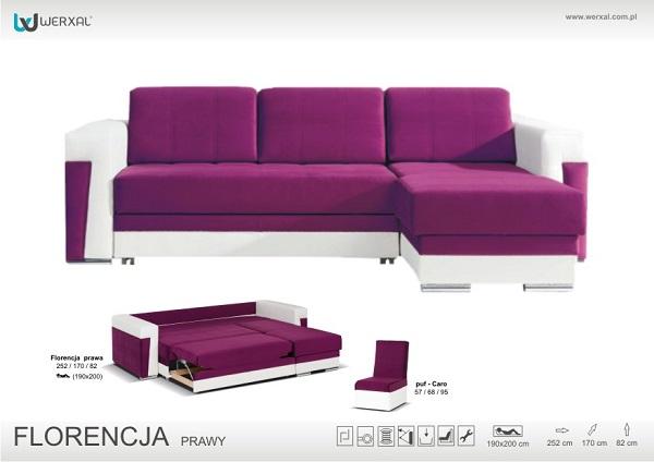 Угловой диван Florencja