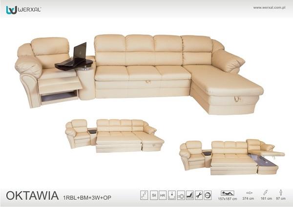 Система мягкой мебели Oktawia